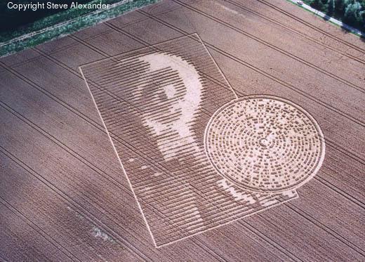 神秘的麦田怪圈,到底是恶作剧,还是来自外太空的讯息?