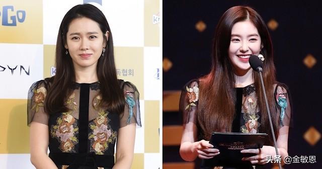 《爱的迫降》女演员孙艺珍和韩国年轻偶像的7个撞衫时刻