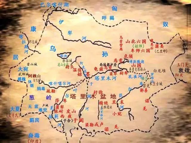 西域三十六国:古代西域有哪些国家?