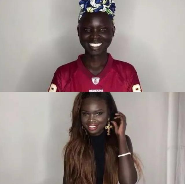 非洲黑妞睡觉都不想摘的遮丑假发,80%都来自河南...