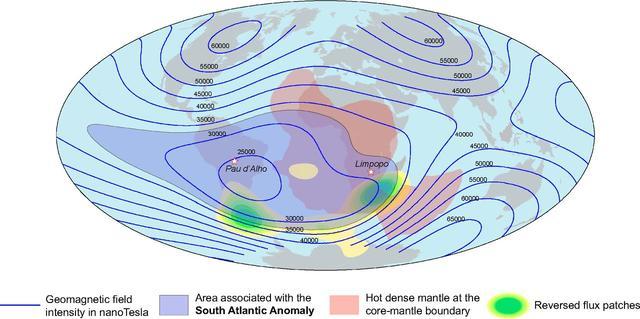 科学家:南大西洋磁场异常,地球磁场强度削弱9%-第3张图片-IT新视野