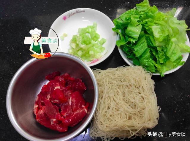 立秋后,早餐就馋这碗粉,有菜有肉,实在太鲜了,做法简单又营养