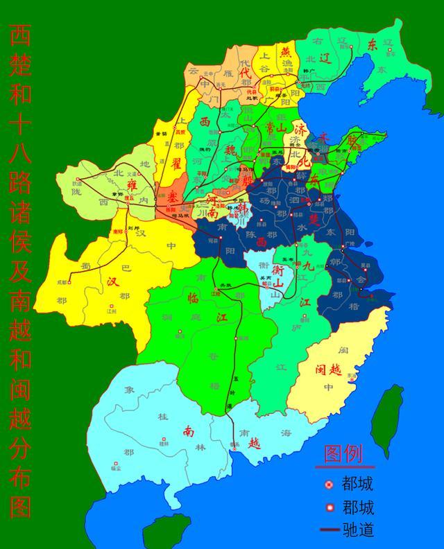 国共内战和楚汉相争历史上的共同点多吗?请例举说明…