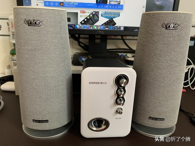 爆改斐讯R1音箱系列②19.9包邮音箱+2个R1组完美立体声桌面音箱?