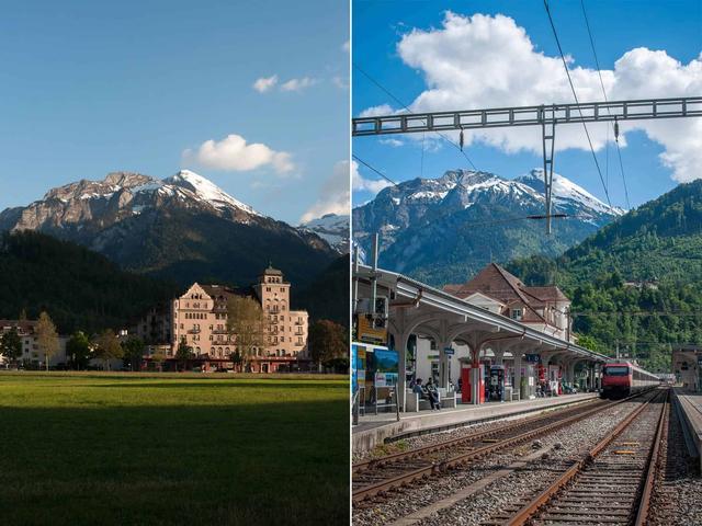 瑞士少女峰,和家人一起旅行去看雪山