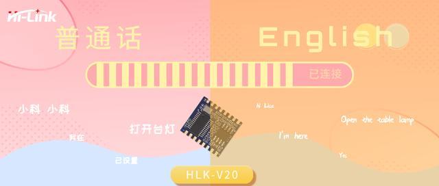 火爆抖音HLK-V20 语音模块智能家居新风口