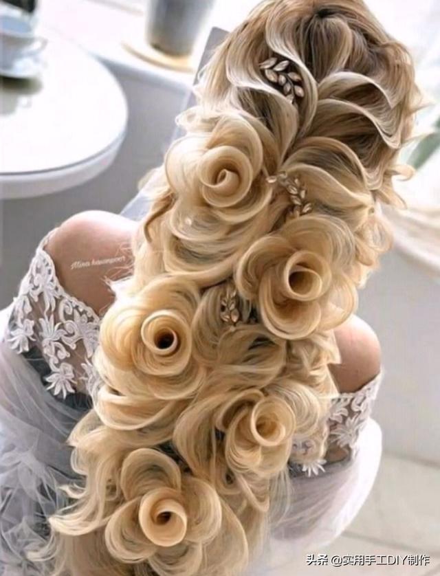 「发型DIY」精美绝伦的长发造型设计,美成了艺术,太好看了