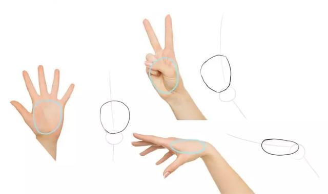 「CG原画插画教程」教你正确的去练习动漫人物的手