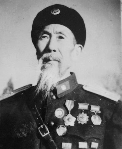 1955年授衔时年龄最老的少将