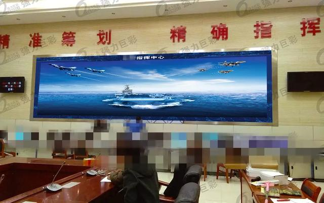 LED大显示助力军事信息化