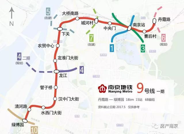 吐血整理!跟着南京这14条地铁买房,手握这一篇就够了