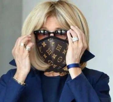 太奢侈! 法国第一夫人的口罩2万元