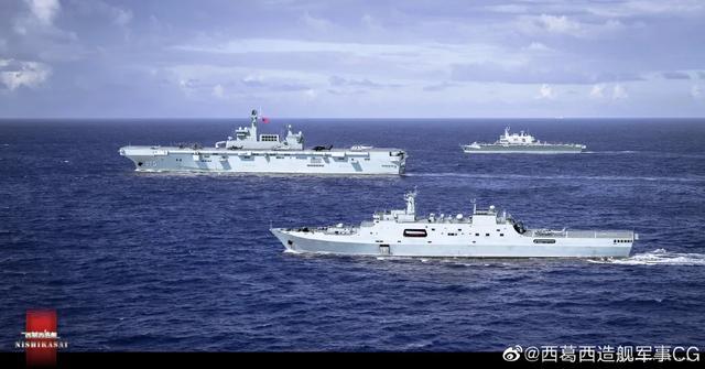 好事多磨!中国075出海试航刷爆网络,中国海军进入新纪元