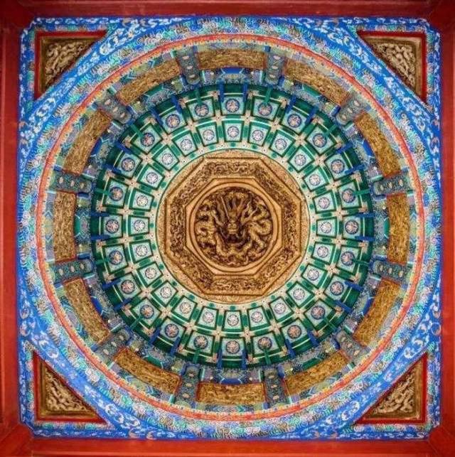 藻井——最美天花板