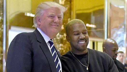 饶舌歌手侃爷宣布竞选美国总统 曾赞特朗普关心黑人