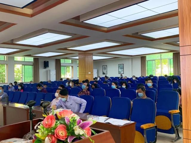 助力复学 防疫进校——涵江医院受邀为多校教职工开展防疫健康讲座