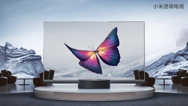 探索之作透见未来,小米发布全球首款量产透明电视,售49999元
