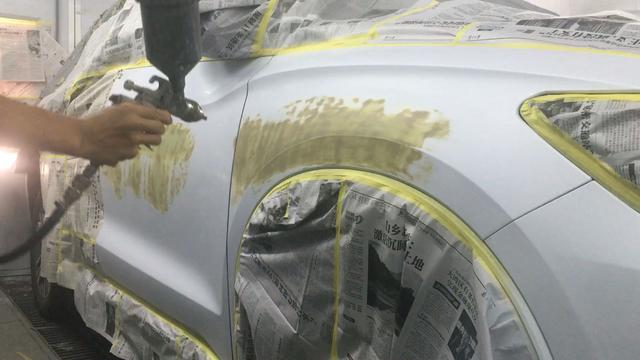 汽车喷漆怎么喷不花
