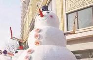 东北人堆的雪人和南方人堆的雪人,这就是差距啊!