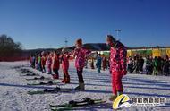 新疆阿勒泰市中小学生今冬滑雪课开课啦