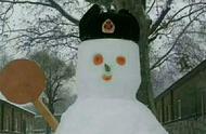 堆雪人,原来兵哥哥才是真正的高手