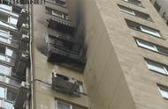 结婚放烟花弹蹿到楼上 烤爆玻璃引发火灾