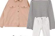 条纹T恤经典单品,帮你摆脱俗气感,穿出自己的风格
