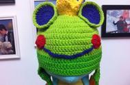 「钩编图解」男童必备的青蛙王子护耳帽