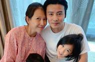 46岁蔡少芬11年生3胎,张晋4天后才公布喜讯,儿子名叫张乐儿
