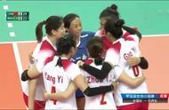 八一女排3-0完胜巴西女排,取得军运会小组赛两连胜