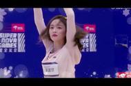 杨超越、傅菁、吴宣仪合体,绝美三人艺术体操表演惊艳观众!