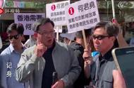 """被""""刺""""4天后,何君尧今早复出上街参与竞选活动"""