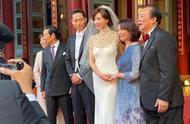 林志玲在家族祠堂办婚礼,现场好甜蜜,前男友言承旭新剧将播