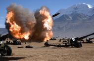 海拔4500米,喘气都困难,兵哥哥上演炮兵实弹射击,场面震撼!