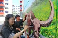 裸眼3D墙体彩绘助力秦皇岛老旧小区改造