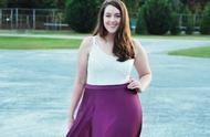 160斤的身材80斤的臉,她可以說是肥胖界的顏值巔峰了!