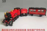 分享 乐高LEGO 75955 霍格沃兹特快列车改电动