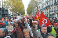 法国迎来黑色星期四!退休改革引发全国大罢工,交通医院工厂全停摆