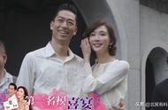 袁弘夫妇现身林志玲婚礼,张歆艺踩高跟和老公恩爱手牵手