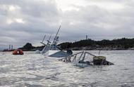 挪威海军又出事了,8米巨浪拦住救援船,1300人被困海上求助无门