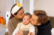 韩安冉晒出全家的照片,网友:幸福到蒙圈的小猪妹,让人羡慕