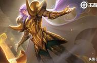 王者荣耀:鲁班大师技能加成方式更改,张良-黄金白羊座原画展示