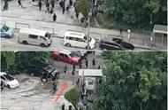 暴徒逃入停车场被一网打尽 香港市民:大快人心