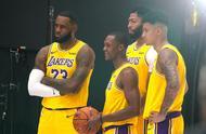 湖人队19/20赛季NBA媒体日