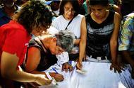 联合国大会前夕,委内瑞拉人自发组织签名,共同抗议美对委制裁