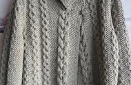 分享一组今年流行的棒针毛衣麻花图案,不仅仅是喜欢