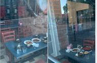 多大点事儿?澳美食博主曝光中餐厅不收拾残局,剩菜留桌上整夜