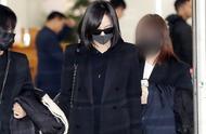 送雪莉最后一程!宋茜抵达韩国仁川机场,口罩墨镜遮面低头不语