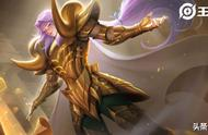 王者荣耀张良黄金白羊座曝光,传说级紫发穆先生,居然有三种特效