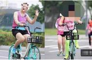 脸皮真厚!成都半马两女子直接骑车参赛,面对镜头还笑呵呵